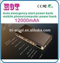 emergency jump starter 12v quick start car battery ,Power Bank for Mobile phones, Digital Camera