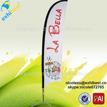 outdoor portable lighted safety flag