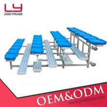 2015 professional design Portable indoor stadium bleacher seat metal bleacher