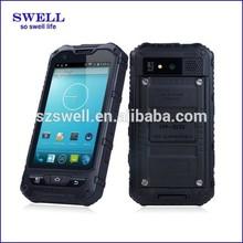2014 hot selling rugged smartphone MTK6572 dual core waterproof antishock smartphone A8