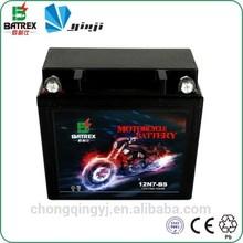 BATREX Rechargeable Sealed Lead Acid Battery 12v 7ah for 12N7-BS