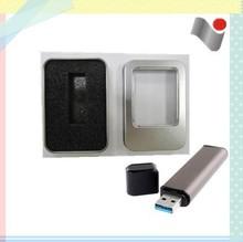 PVC window metal box for USB flash disk