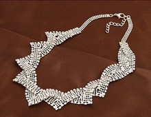 Fashion Jewelry 2015 New Product Silver Plated Necklace