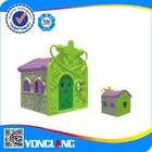 Outdoor playhouse hospital indoor plastic playground child playset