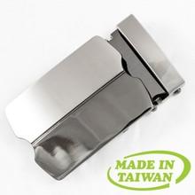 Custom logo automatic belt buckle