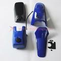 pw80 py80 plástico kits para yamaha pit bike dirt bike azul