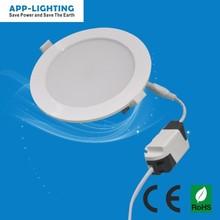 energy-saving 12v round solar led panel light 18w