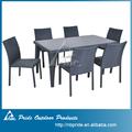 Al aire libre muebles de jardín/sintético poli sofá conjunto/muebles de rota/mimbre