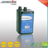 4R25 carbon size zinc carbon battery high capacity