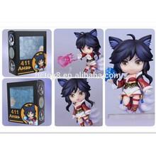 Hot sell 10cm LOL League of League Q version Ahri PVC Japanese anime action figure supplier