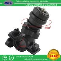 bike camera holder ABS adjustable stand phone camera holder for bicycle
