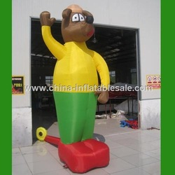 Advertising giant inflatable man