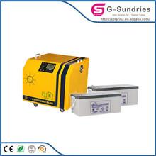 Energy saving high power portable silicon solar systems