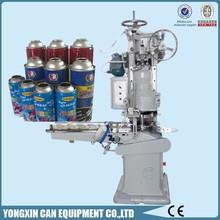 Electric driven automatic empty aerosol body spray cans