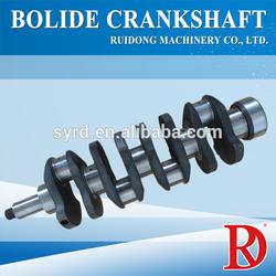 High quality 4BE1 cast iron crankshaft factory