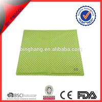 Blue nylon food grade gel cool seat sheet