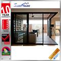 Nouveau design de verre résistant aux chocs moderne, portes coulissantes d'intérieur