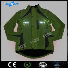 China supplier LED Flash motorcycle riding jacket