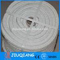 resistente ao fogo redonda da fibra cerâmica corda trançada