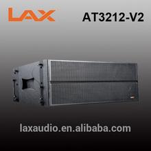 Double 12inch 3-way waterproof line array speaker/audio equipment guangzhou