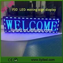 led display board usb P10 LED screen