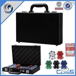 Good Quality Casino Custom Poker Chip Case PU Leather Case