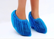 Machine made Blue Disposable Surgical Overshoe