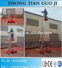 10m 100kg single post one man aluminium ladder