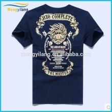 2015 brand original SuFeng T-shirt Ghost wash hid in wang Cotton round collar flocking men's short sleeve T-shirt