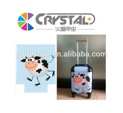 2015 Cartoon Design PC Luggage Four Universal Wheels Kids Luggage
