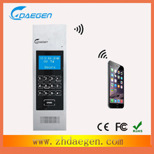 high quality china most popular GSM door intercom technology home phone