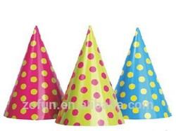 Children paper hat patterns/cartoon paper birthday party hat
