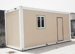 low cost 20ft prefabricated shipping movable container house/container store/sandwich panel house