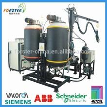 continuous polyurethane pu foam injection molding machine