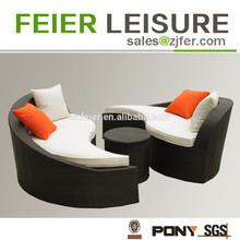 Hot sell popular rattan sofa\/lounge rattan