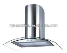 chinese kitchen exhaust cooker hood switch aluminum range hood filter H92.9