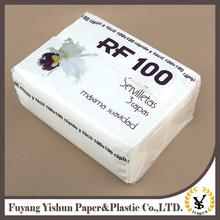 New Arrival Custom Design paper printing handkerchiefs for wedding birthday favors gift