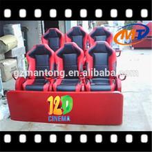 Amusement 5d/6d/7d/8d/9d/11d/12d mobile cinema machine, theme park truck mobile 5d cinema equipment