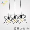 Atacado personalizadoilha luz do pendente vintage pingente luz popular pendente lâmpadas gz50025-3p