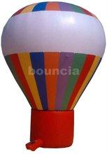 2012 hot rainbow advertising inflatable ground balloon