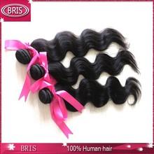 Double drawn 100% virgin unprocessed vietnam hair