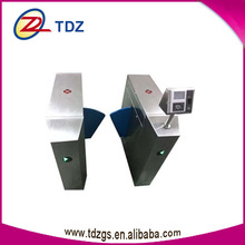 stainless steel access control board face fingerprint mechanism of flap barrier with barrier system