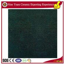 600 x 600mm dark green garden ceramic tile