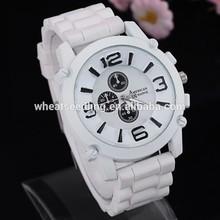 Jelly design fashion cheap custom logo watches