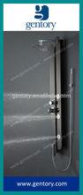 Fine Art Work 304 Black Mirror Finish Stainless Steel Shower column Screen S172