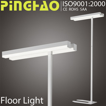 Long lifetime 100lm/W 2x14w sculpture floor lamp Manufacturers