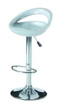Modern moda baratos tamborete de barra com frp seater, banqueta cromada e base pbc14728