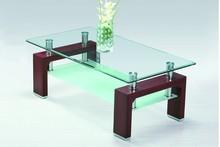 tempered glass coffee table livingroom strip table livingroom furniture
