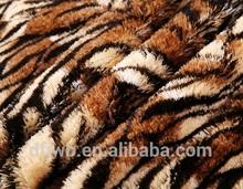 Trustworthy China supplier animal print fleece fabric