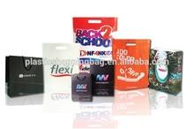 Gravure Printing Graphic Personalized Logo Plastic Shopping Bag